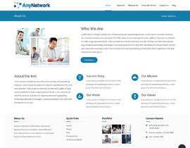 Nro 39 kilpailuun Design a WordPress Website käyttäjältä zaxsol