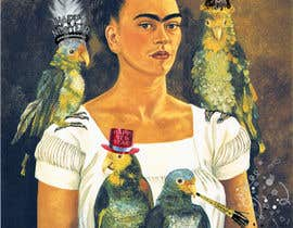 cristinajulien tarafından I need some Graphic Design - Frida Kahlo NYE için no 7