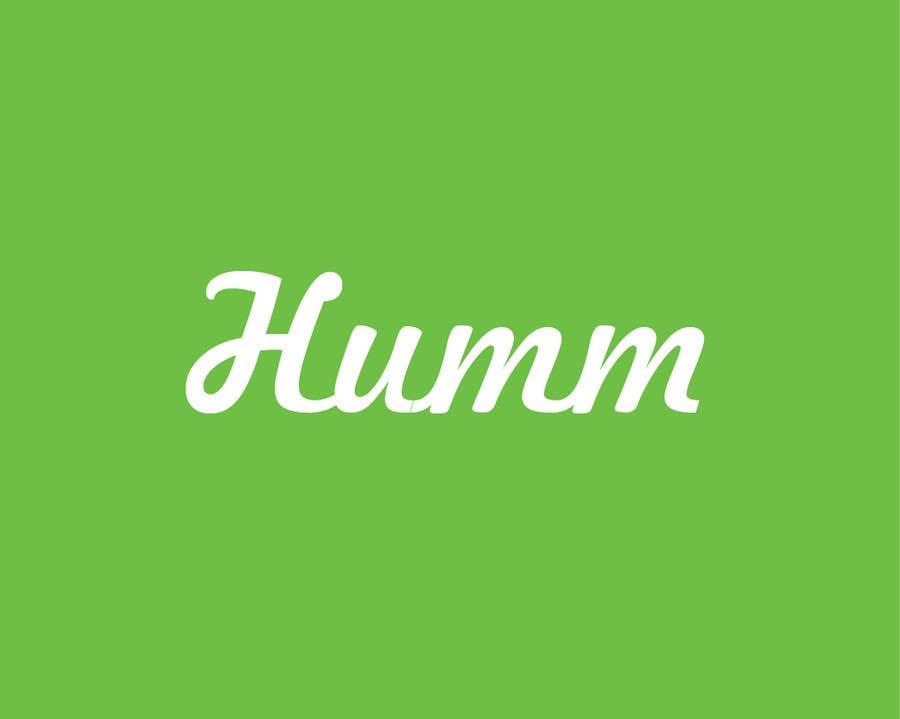 Bài tham dự cuộc thi #2 cho Design a Logo for HUMM app