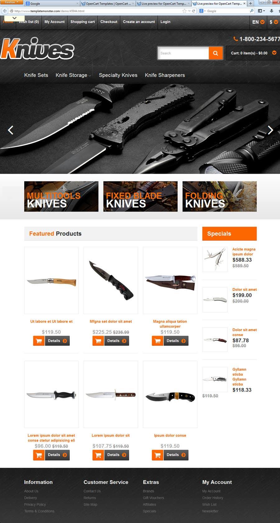 Inscrição nº 3 do Concurso para Build an Online Store for Spare Parts used in agriculture