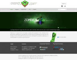 #34 untuk Design a Website for www.creeperhost.net oleh patrickjjs