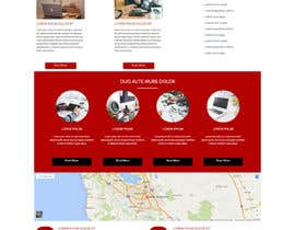 alizaever tarafından Design a Website Mockup için no 8