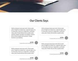 Nro 20 kilpailuun Design a Website Mockup käyttäjältä alexxanderron