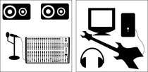 Contest Entry #2 for 10 pictograms in black and white