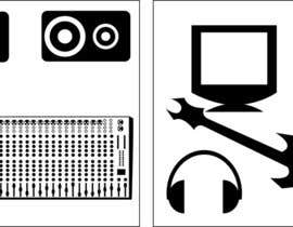 jaclado tarafından 10 pictograms in black and white için no 2