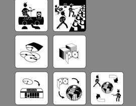 timoffei tarafından 10 pictograms in black and white için no 10