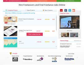 #81 for Design a new default page for Freelancer af gaf001
