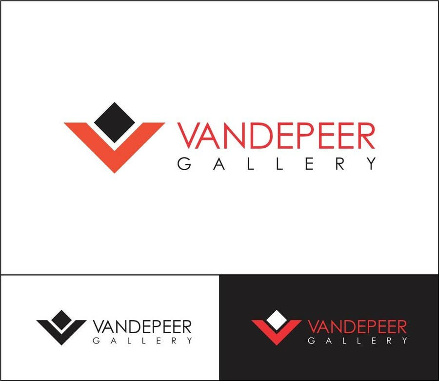 Proposition n°28 du concours Design a Logo for Vandepeer Gallery
