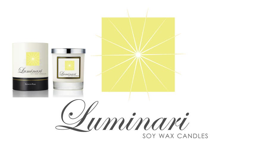 Contest Entry #45 for Design a Logo for Luminari Soy Wax Candles