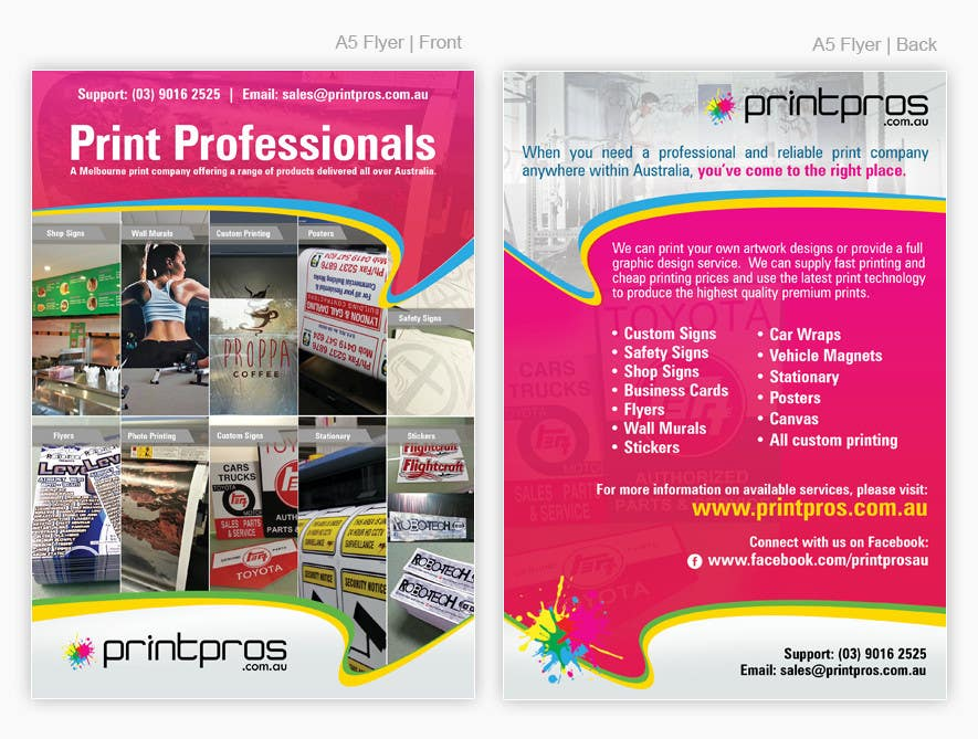 #22 for Design a Flyer for marketing by pris