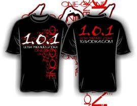 nº 60 pour Design a T-Shirt for 1.0.1 Vodka par iYNKBRANE