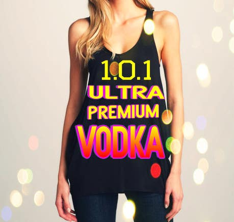 #23 for Design a T-Shirt for 1.0.1 Vodka by mcavillena