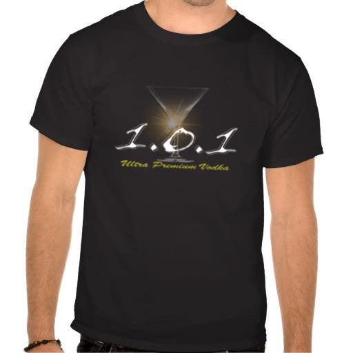 #34 for Design a T-Shirt for 1.0.1 Vodka by mikimaus7080