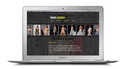 #6 para Build a simple Website for Modeling Agency - repost por zicmedia