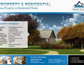 #4 untuk Design a Flyer for Real Estate oleh lardher