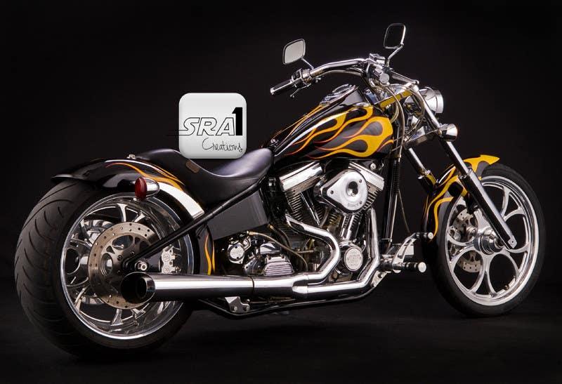 Kilpailutyö #3 kilpailussa Design a Banner for website (motorcycle custom chopper site)