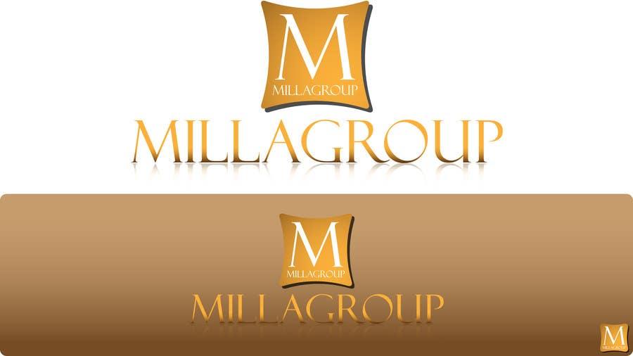 Penyertaan Peraduan #41 untuk Design a Logo for  MILLAGROUP