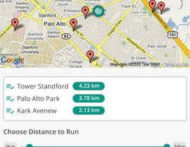 shakilaiub10 tarafından Design an App Mockup, for a running app, HK landmark run için no 3