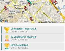 shakilaiub10 tarafından Design an App Mockup, for a running app, HK landmark run için no 10
