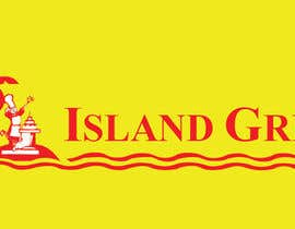 #110 for Design a Logo for ISLAND GRILL af jinupeter
