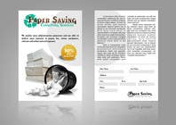 Graphic Design Entri Peraduan #7 for Ad to attract customer to get Paper Saving Consulting Services