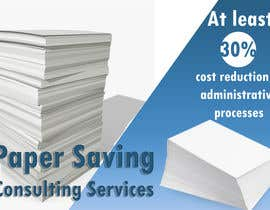 nº 2 pour Ad to attract customer to get Paper Saving Consulting Services par shduraid