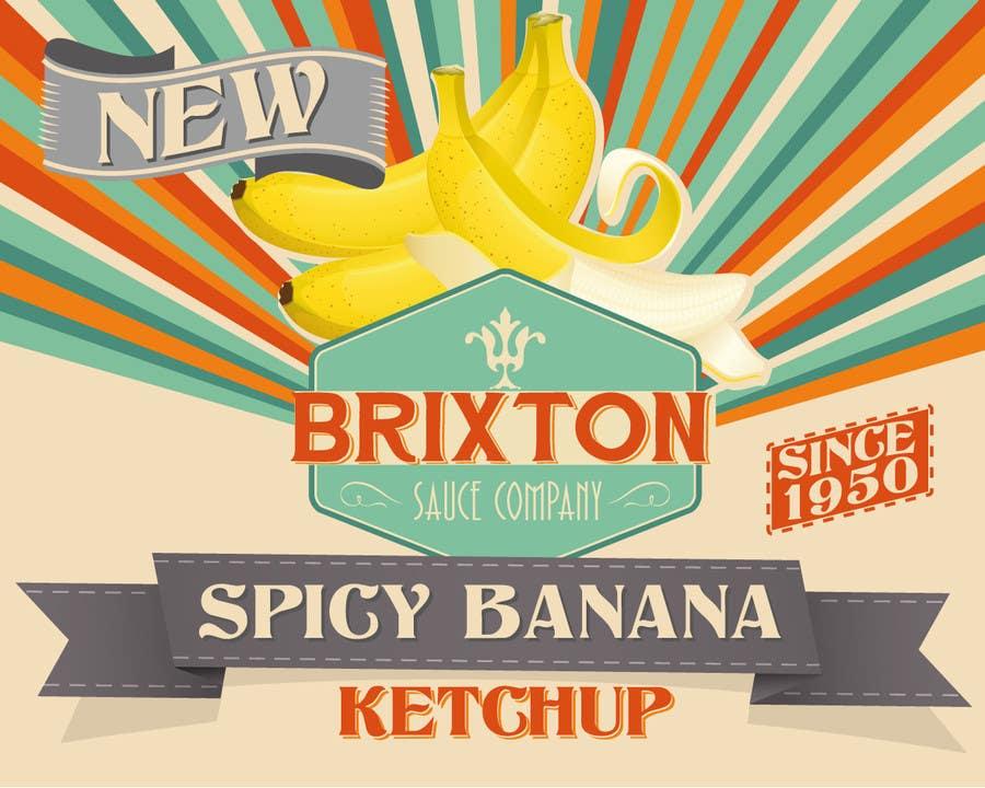 Inscrição nº 44 do Concurso para Design a Logo for a new Sauce / Condiment bottle