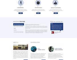 Nro 26 kilpailuun Design a Website Mockup (main page / one subpage) käyttäjältä zumanur