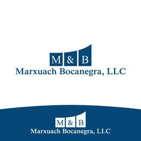 #42 cho Design a Logo for Marxuach Bocanegra, LLC bởi SergiuDorin