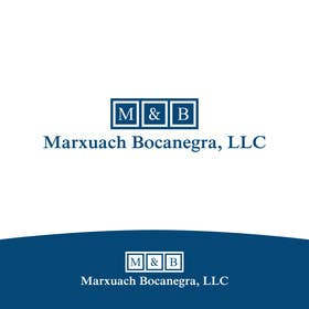 #43 for Design a Logo for Marxuach Bocanegra, LLC af SergiuDorin