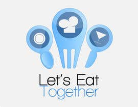 manpreetsingh009 tarafından Design a Logo for LetsEatTogether.co.uk için no 52