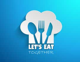 Daks7 tarafından Design a Logo for LetsEatTogether.co.uk için no 13