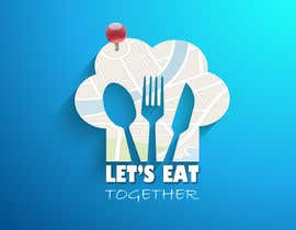 Daks7 tarafından Design a Logo for LetsEatTogether.co.uk için no 30