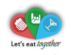 jinxie961 tarafından Design a Logo for LetsEatTogether.co.uk için no 4