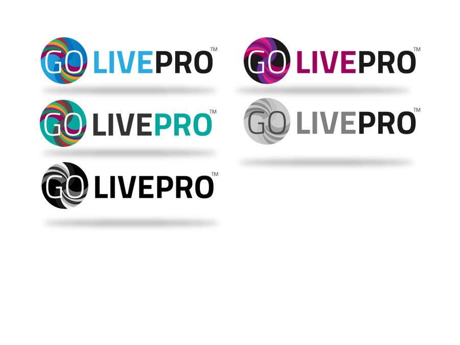 Kilpailutyö #5 kilpailussa Design a Logo for Go-Live Pro