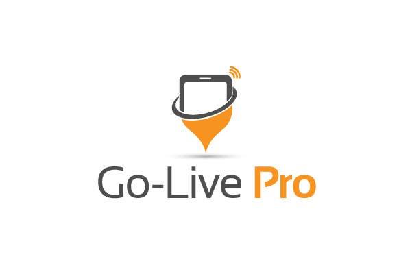 Kilpailutyö #55 kilpailussa Design a Logo for Go-Live Pro