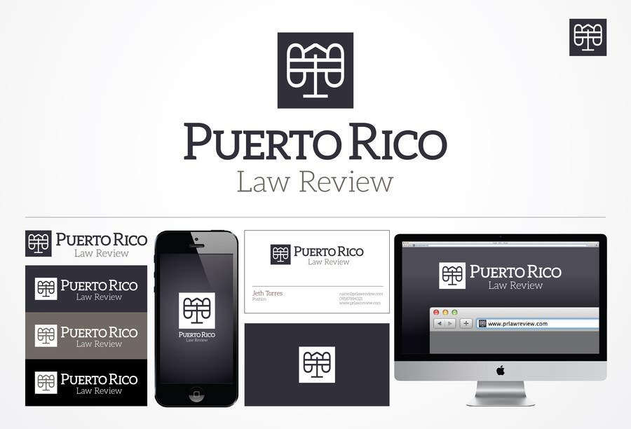 Penyertaan Peraduan #33 untuk Design a Logo for Puerto Rico Law Review, LLC