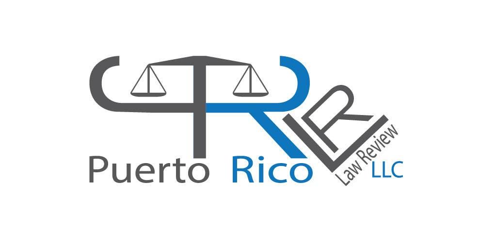 Penyertaan Peraduan #63 untuk Design a Logo for Puerto Rico Law Review, LLC