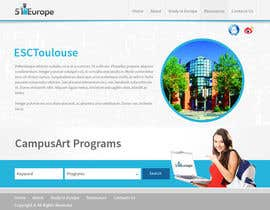 #11 untuk Create a website for a student orientation company / 51europe.org oleh tania06