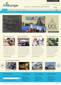 #1 untuk Create a website for a student orientation company / 51europe.org oleh zicmedia