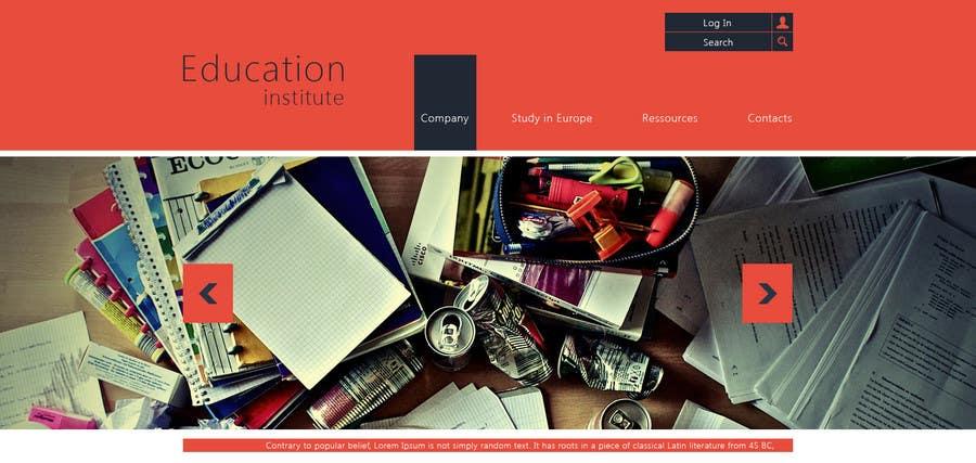 Inscrição nº 3 do Concurso para Create a website for a student orientation company / 51europe.org
