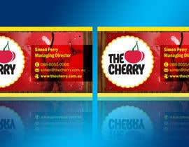 #45 untuk Design some Business Cards for The Cherry oleh linokvarghese