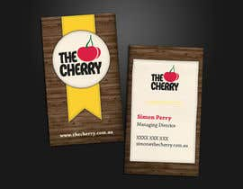 #44 untuk Design some Business Cards for The Cherry oleh Lissa91