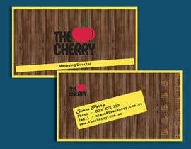 #46 for Design some Business Cards for The Cherry by CabbNetic