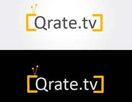 #65 for Design a Logo for QRATE.TV by chaudhryali
