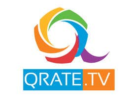 nº 28 pour Design a Logo for QRATE.TV par LogoFreelancers