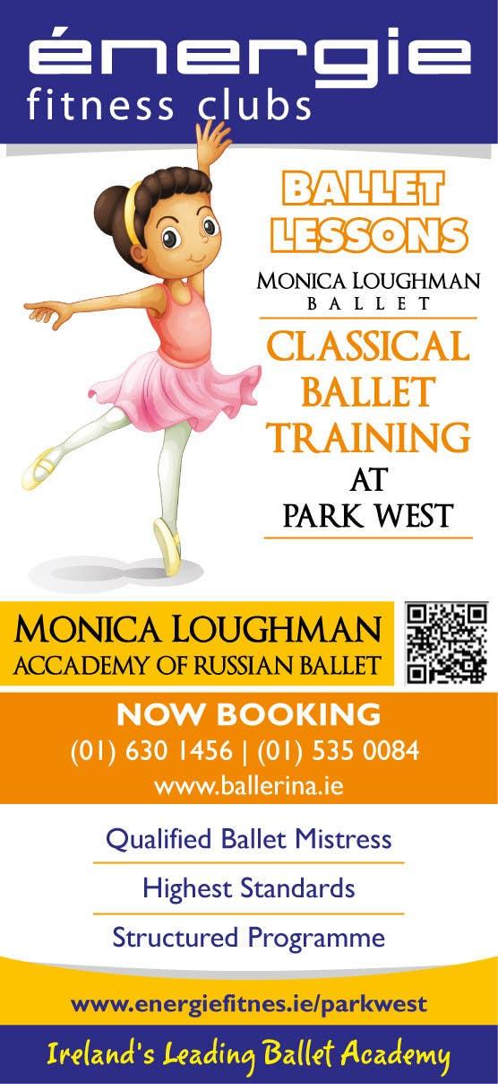 #18 for Design flyer for ballet school by samazran