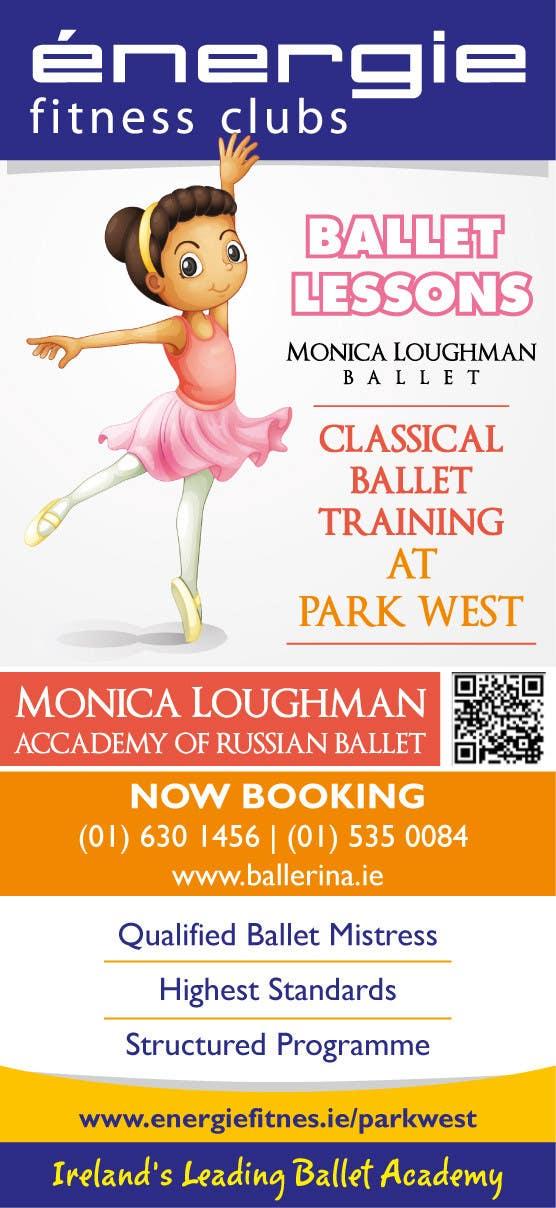 #31 for Design flyer for ballet school by samazran