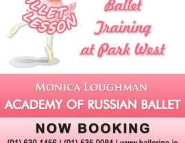 nº 12 pour Design flyer for ballet school par stniavla
