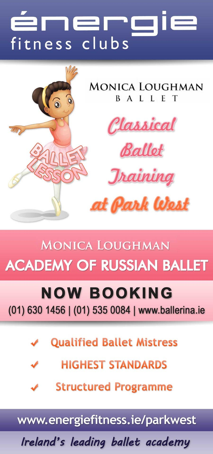 #29 for Design flyer for ballet school by stniavla